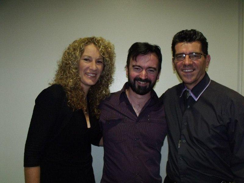 Matt Burke with Annette & Kim at Barham 2014