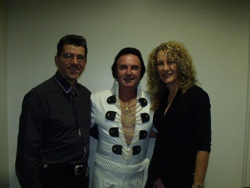 Terry Leonard with Annette & Kim in Barham 2014