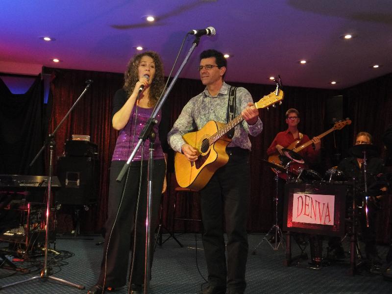 Barham Festival Annette & Kim in the Dance Section