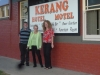 Annette with Dale & Barb at Kerang for dinner 2011-047