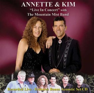 ANNETTE & KIM – LIVE IN CONCERT ALBUM 2015
