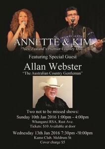 Allan Webster poster